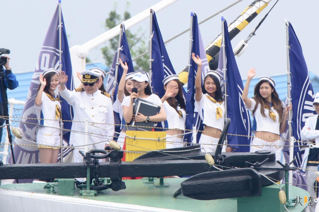 海王丸パークフェスティバル タモリカップ海上パレード