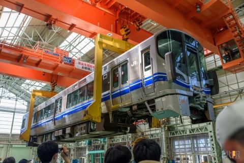 JR西日本 金沢総合車両所 一般公開2016